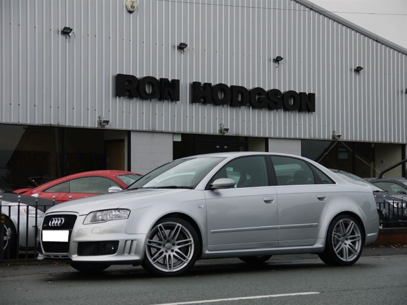 used Audi RS4 QUATTRO BUCKET SEATS FASH in lancashire