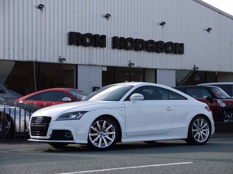 used Audi TT TFSI S LINE S TRONIC FULL LEATHER in lancashire