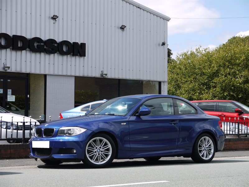 used BMW 123d M SPORT Sold Delivering To Up Holland in lancashire