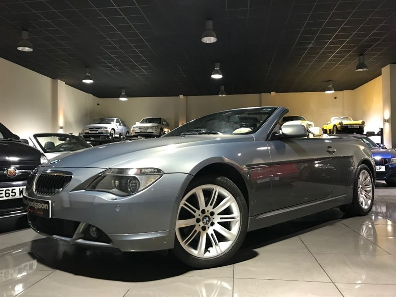 used BMW 630i SAT NAV HEATED SEATS ONLY 54,896 MILES in lancashire