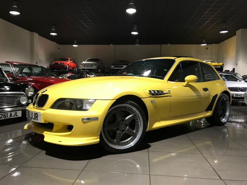used BMW M Coupe Z3M COUPE DAKAR YELLOW AC SCHNITZER BODY KIT in lancashire
