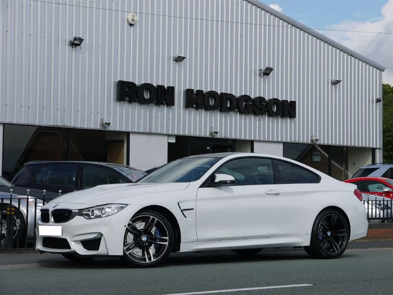 used BMW M4 DCT SURROUND VIEW MEGA SPEC in lancashire