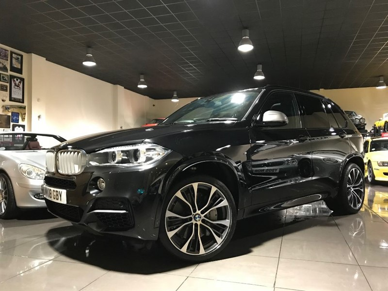 used BMW X5 M M50D M SPORT PLUS PACKAGE PAN ROOF in lancashire
