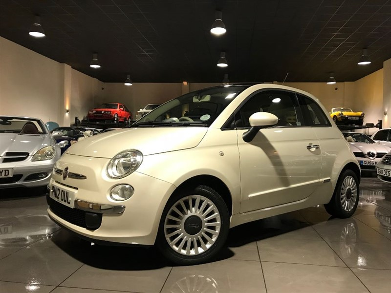 used Fiat 500 LOUNGE FULL LEATHER PANORAMIC ROOF in lancashire