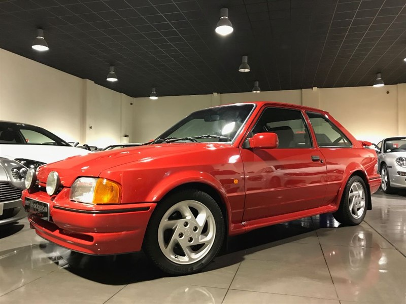 used Ford Escort RS TURBO SERIES 2 ROSSO RED RARE NON CUSTOM MODEL in lancashire
