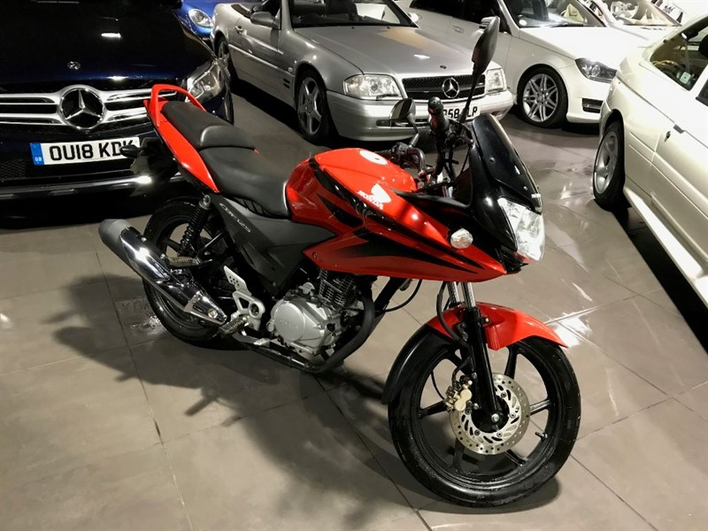 used Honda CBF Sold Delivering To Mansfield in lancashire