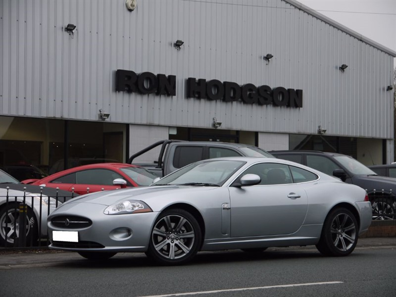 used Jaguar XK COUPE HEATED SEATS SAT NAV in lancashire