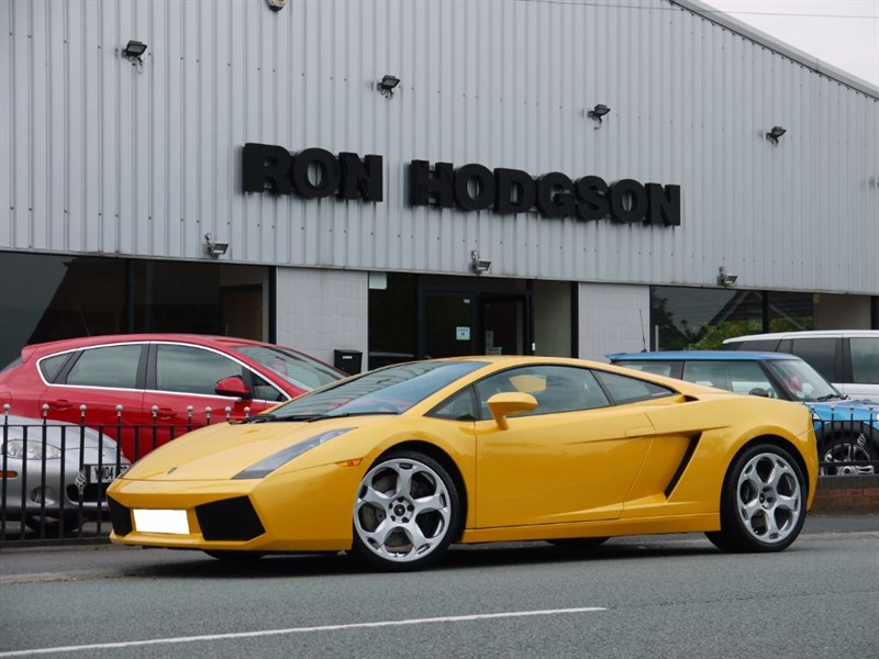 used Lamborghini Gallardo V10 COUPE E GEAR in lancashire