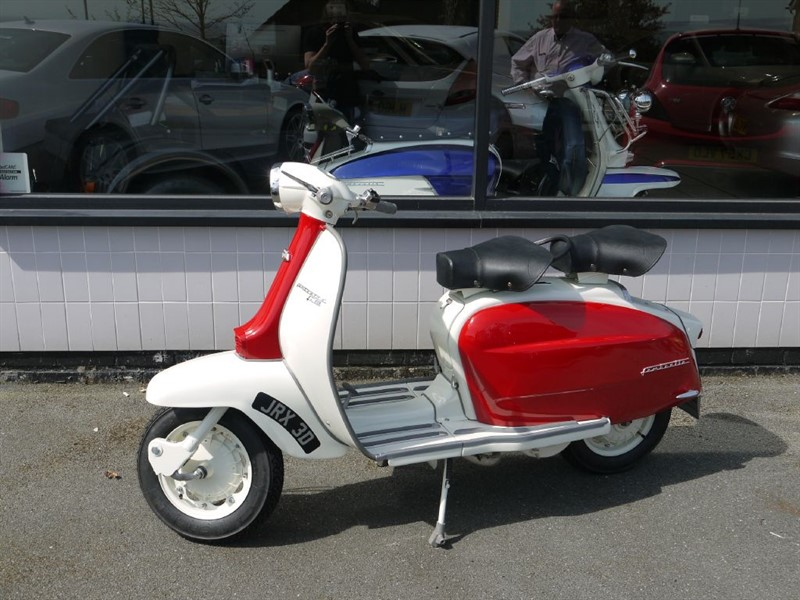 used Lambretta  LI150 ORIGINAL BRITISH SCOOTER in lancashire