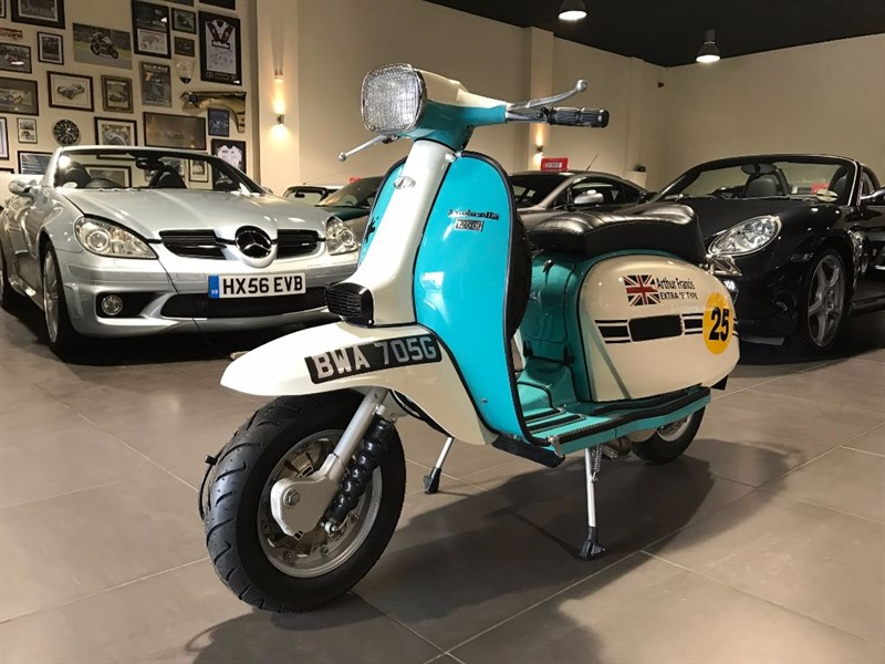 used Lambretta GP125 with Mugello 186cc Kit in lancashire