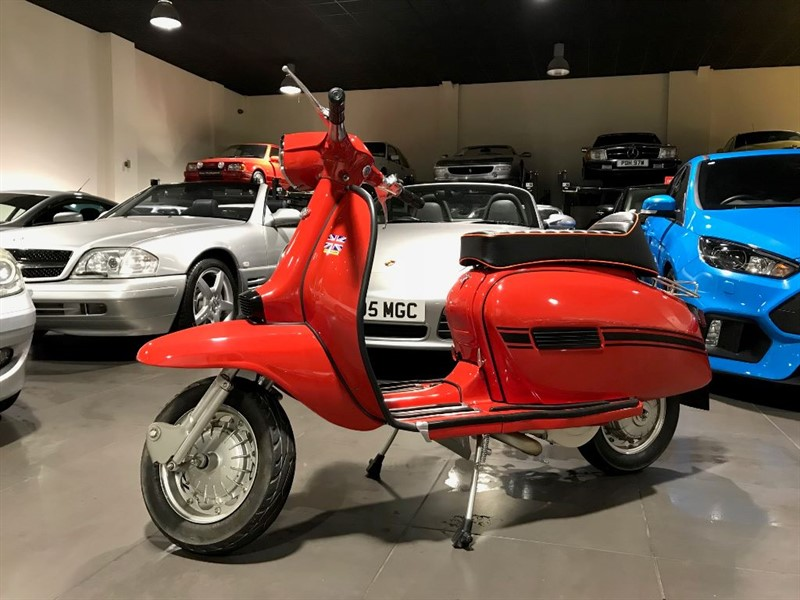 used Lambretta GP150 Sold Delivering To Wigan in lancashire