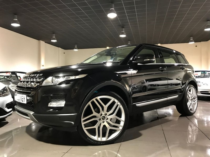 used Land Rover Range Rover Evoque SD4 PRESTIGE 22INCH WHEELS 199 Pounds Per Month! in lancashire