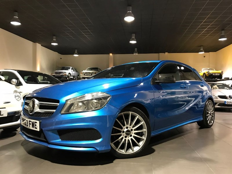 used Mercedes A200 CDI BLUEEFFICIENCY AMG SPORT SAT NAV in lancashire