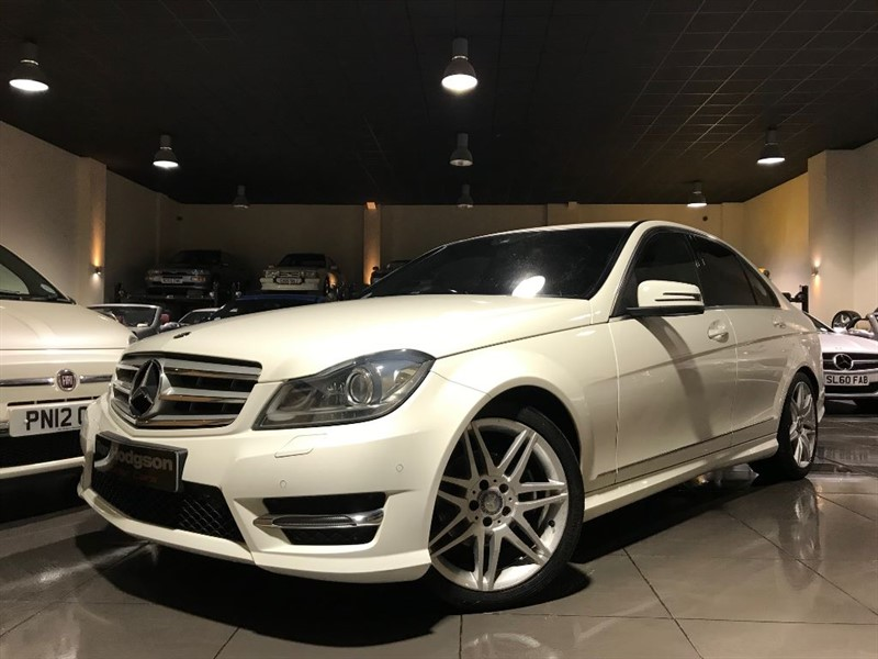 used Mercedes C220 CDI BLUEEFFICIENCY AMG SPORT PLUS in lancashire