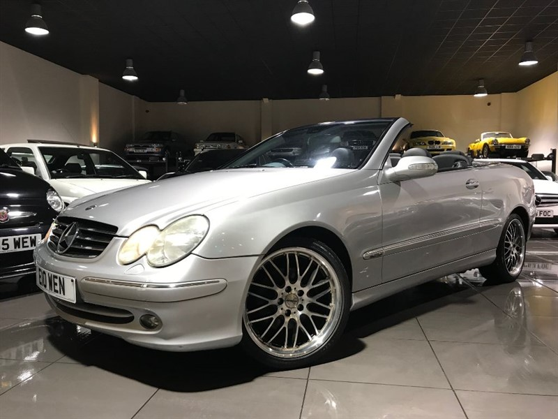 used Mercedes  CLK CLK240 AVANTGARDE SAT NAV LEATHER 18INCH ALLOYS in lancashire