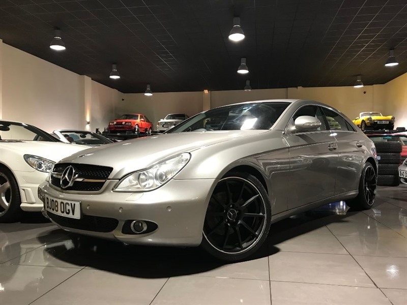 used Mercedes CLS CLS320 CDI AMG GRILL 19INCH ALLOYS HEATED SEATS in lancashire
