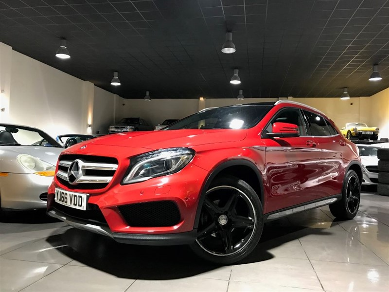 used Mercedes GLA200 GLA 200 AMG LINE PREMIUM PLUS PAN ROOF HEATED SEATS in lancashire