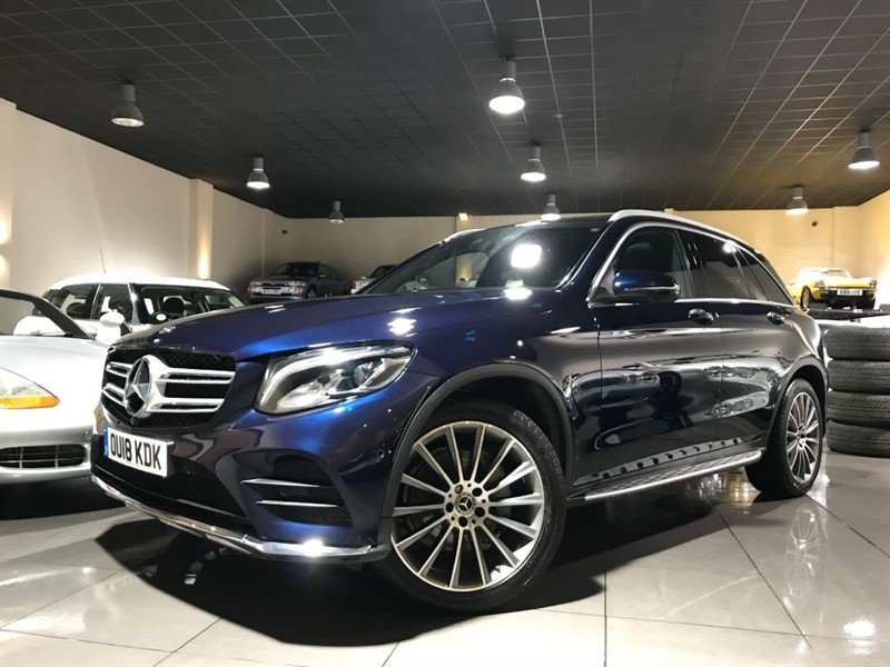 used Mercedes GLC220 GLC 220 D 4MATIC AMG LINE PREMIUM PAN ROOF 360 CAMERAS in lancashire