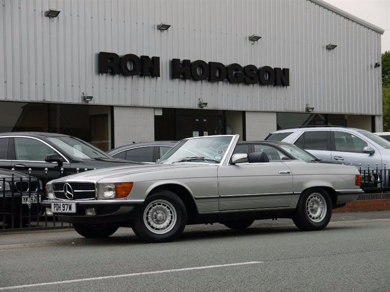 used Mercedes SL 450 SL in lancashire