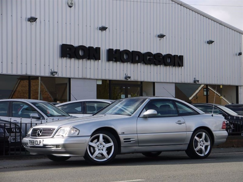 used Mercedes SL SL320 FINAL EDITION WITH PANORAMIC HARD TOP in lancashire