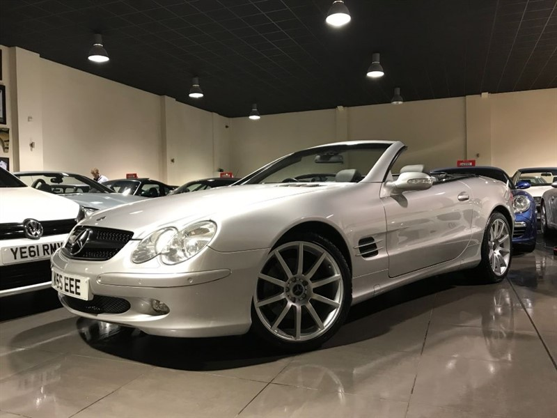 used Mercedes SL SL500 SAT NAV BOSE KEYLESS START in lancashire