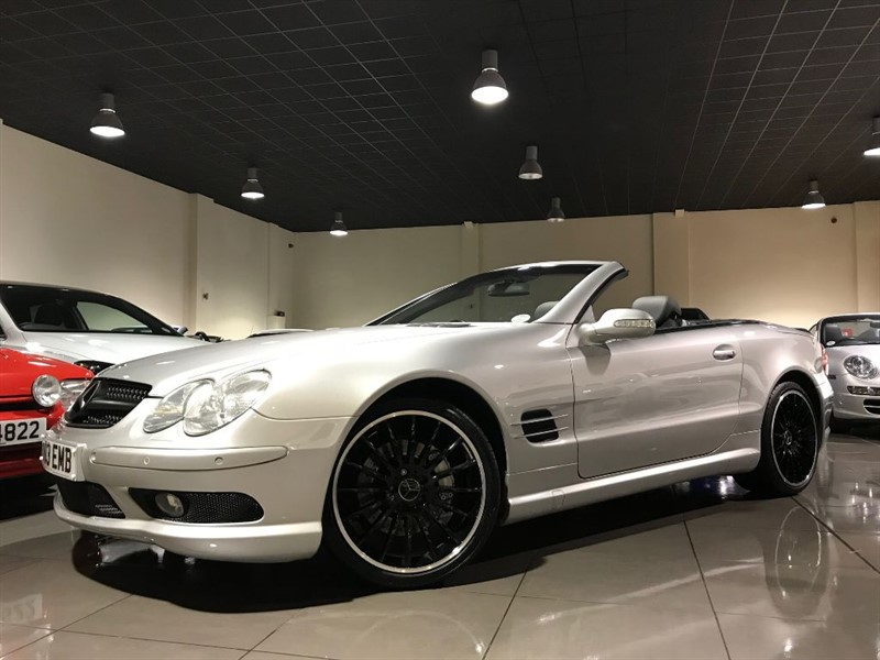 used Mercedes SL SL500 AMG BODY KIT KEYLESS GO 1 FORMER KEEPER in lancashire