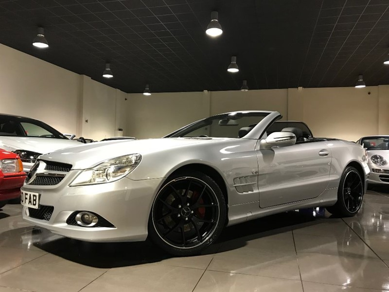 used Mercedes SL SL300 19INCH ALLOYS SAT NAV 349 POUNDS PER MONTH in lancashire
