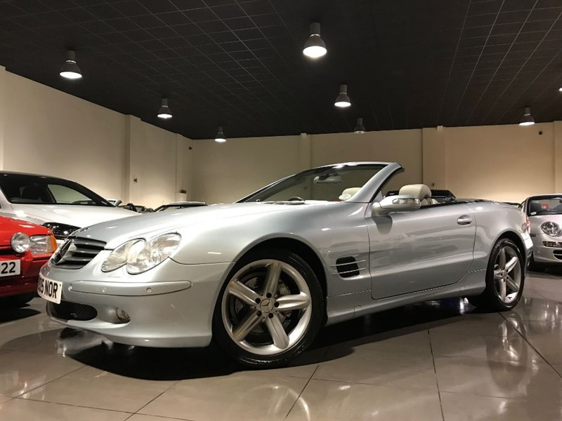 used Mercedes SL SL350 SAT NAV 18INCH ALLOYS 229 POUNDS PER MONTH in lancashire