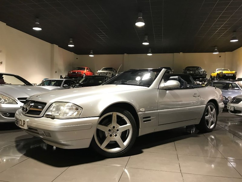 used Mercedes SL SL320 Final Edition Panoramic Hardtop in lancashire