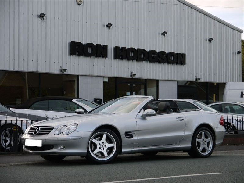 used Mercedes SL SL500 LOW MILES BOSE SOUND in lancashire