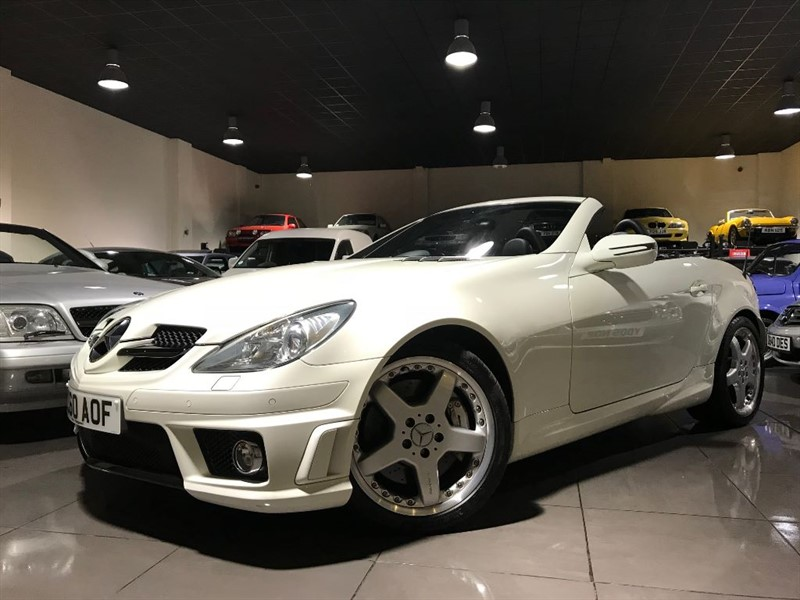 used Mercedes SLK55 AMG HEATED SEATS AIR SCARF SAT NAV in lancashire