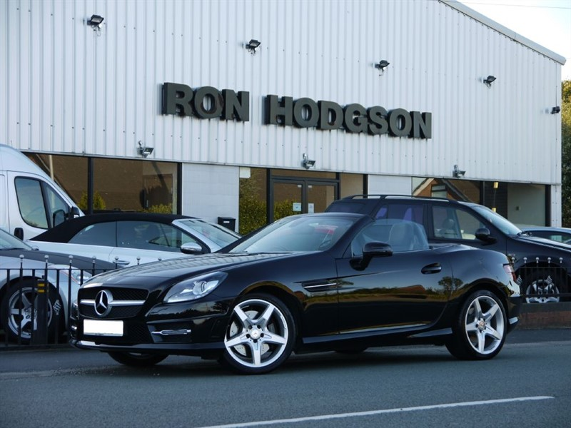 used Mercedes SLK SLK350 BLUEEFFICIENCY AMG SPORT VAT Qualifying in lancashire