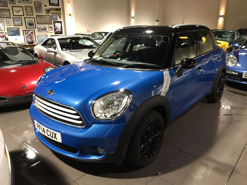 used MINI Countryman COOPER D ALL4 SAT NAV in lancashire