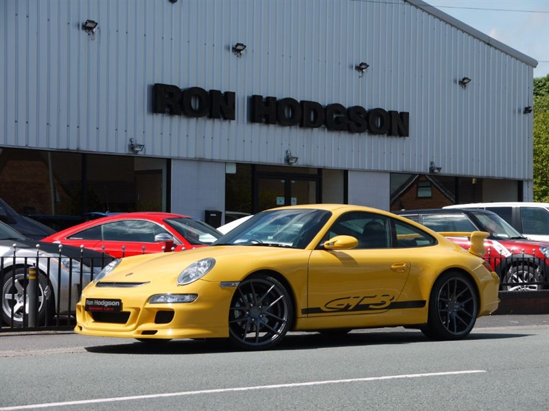 used Porsche 911 997 Carrera with GT3 Aero Kit in lancashire