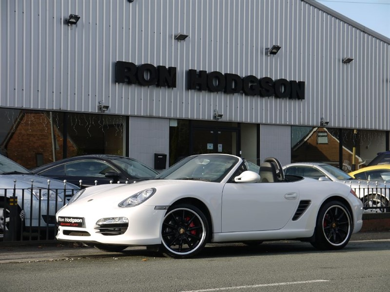 used Porsche Boxster S PDK PCM SAT NAV BLACK WHEELS SPORTS SEATS in lancashire