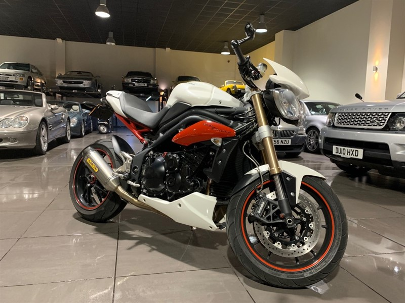 used Triumph Speed Triple 1050cc ABS ARROW EXHAUST in lancashire