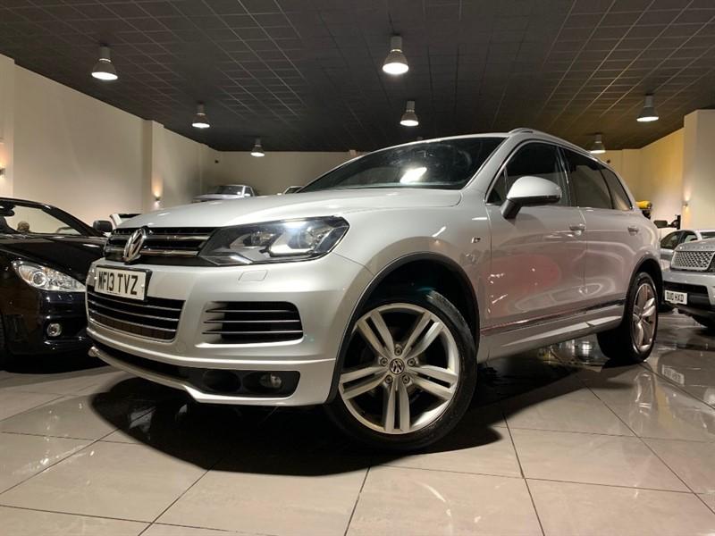 used VW Touareg V6 ALTITUDE TDI BLUEMOTION TECHNOLOGY in lancashire