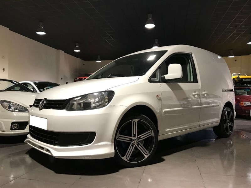 used VW Caddy C20 TDI 102 AIR CON BODY KIT 18INCH ALLOYS NO VAT in lancashire