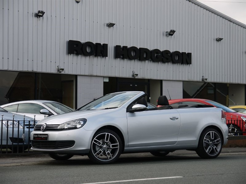 used VW Golf SE TDI BLUEMOTION TECHNOLOGY CONVERTIBLE in lancashire