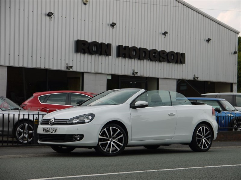 used VW Golf GT TDI BLUEMOTION TECHNOLOGY in lancashire