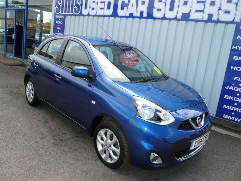 used Nissan Micra ACENTA in darlington-durham