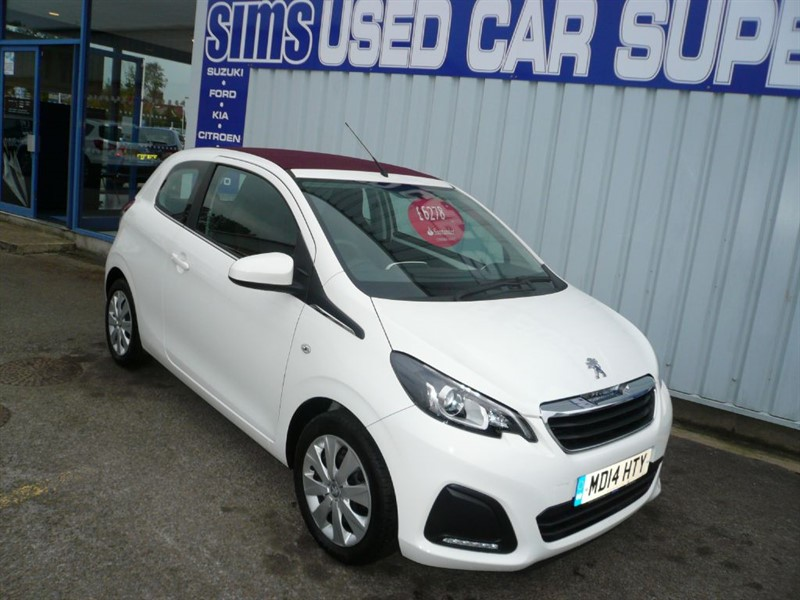 used Peugeot 108 ACTIVE TOP in darlington-durham