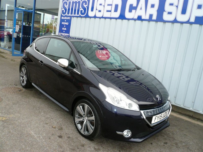used Peugeot 208 BLUE HDI S/S XY in darlington-durham