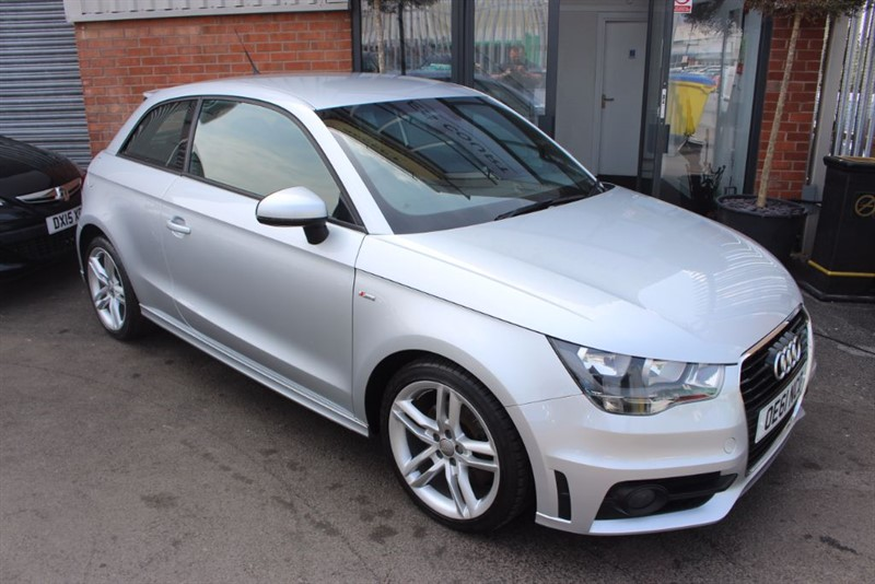 used Audi A1 TDI S LINE WITH SAT NAV in warrington-cheshire
