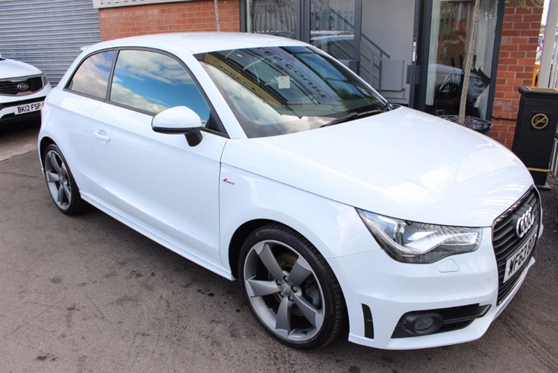 used Audi A1 TDI S LINE BLACK EDITION in warrington-cheshire