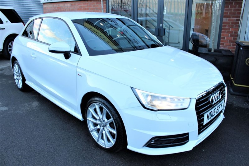 used Audi A1 TDI S LINE in warrington-cheshire