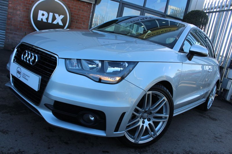 used Audi A1 TDI S LINE-BLUETOOTH in warrington-cheshire