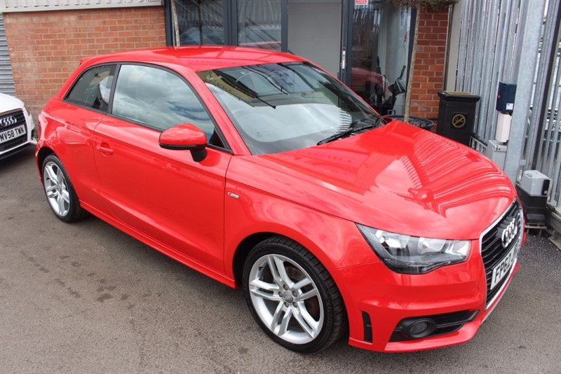 used Audi A1 TFSI S LINE-BLUETOOTH-HALF LEATHER TRIM in warrington-cheshire