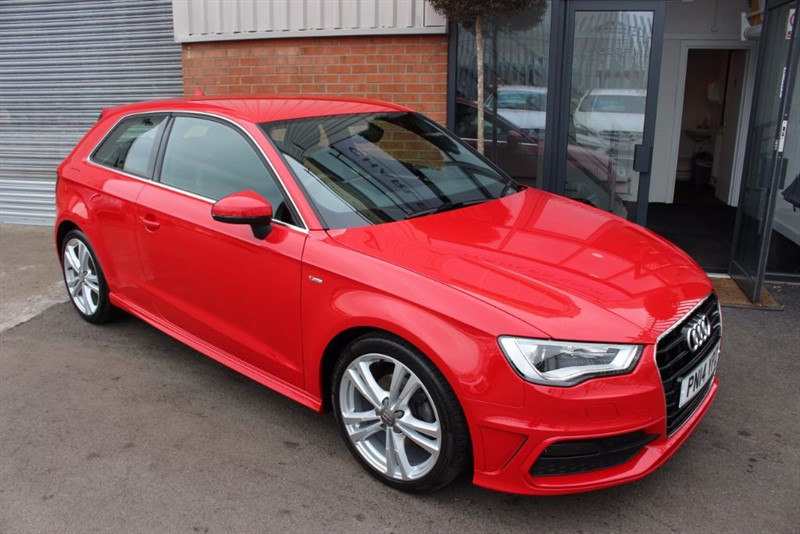 used Audi A3 TDI S LINE-£20 R TAX in warrington-cheshire