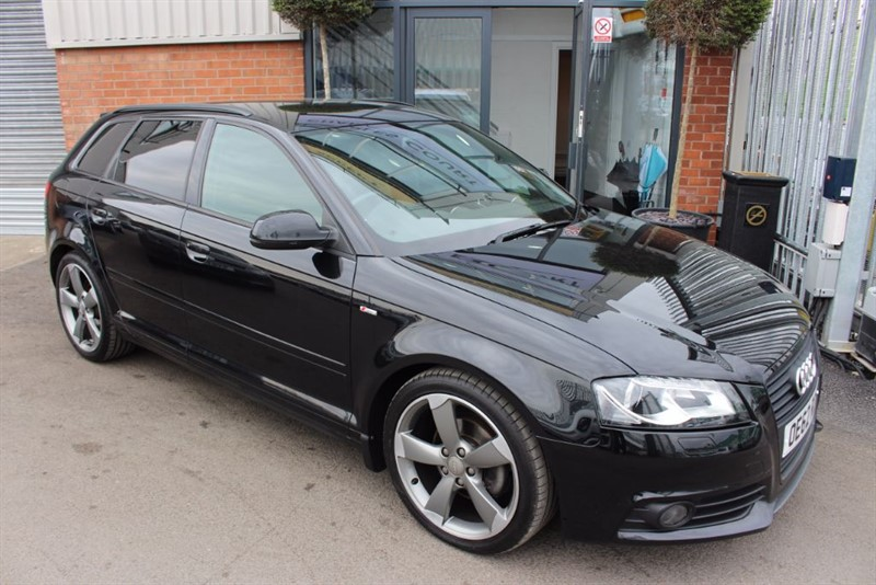 used Audi A3 SPORTBACK TDI S LINE SPECIAL EDITION-£30 RTAX in warrington-cheshire